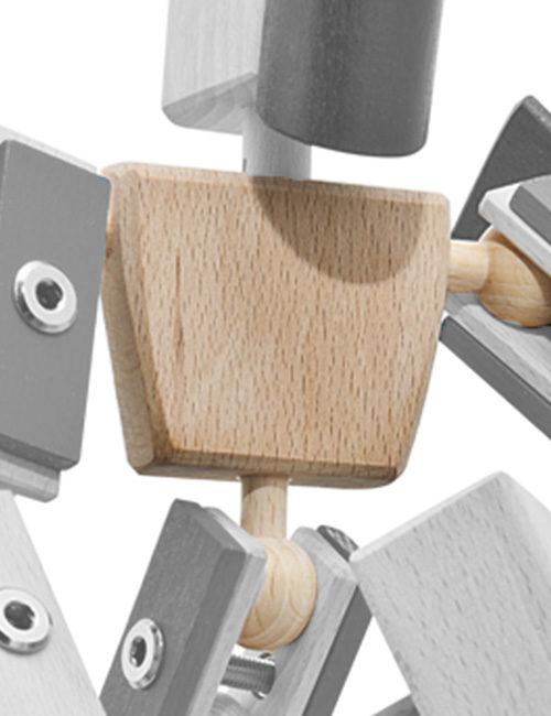 Basis Körper Helden aus Holz